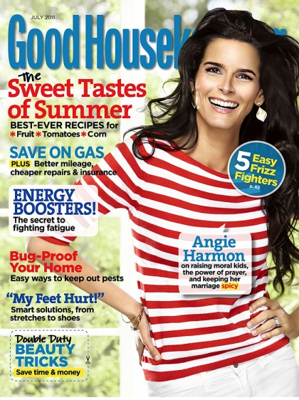 Angie Harmon in Good Housekeeping: 'This is the hardest time in my life'