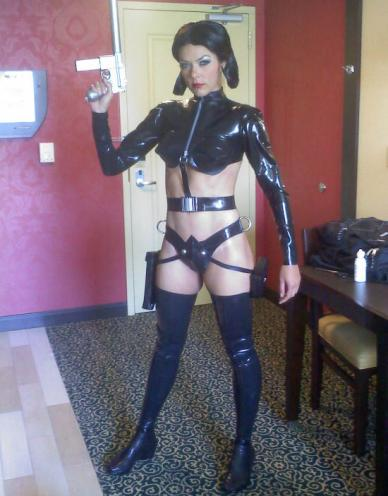 Adrianne Curry Sexy Nerd Costumes