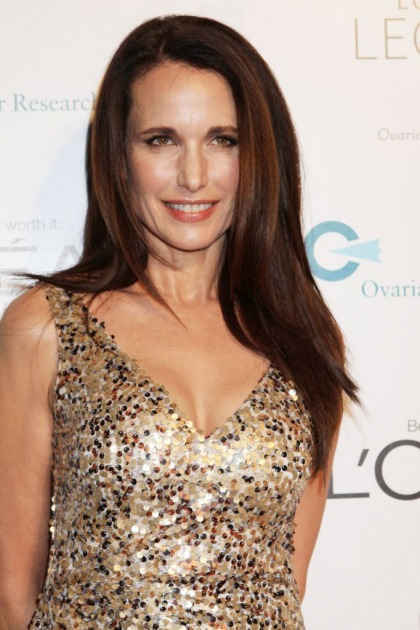 Andie MacDowell and the other L?oreal legend ladies look so Botoxy
