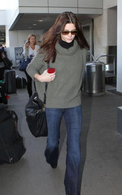 Ashley Greene's Los Angeles Landing