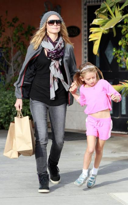 Heidi Klum: Shopping with Leni and Lou