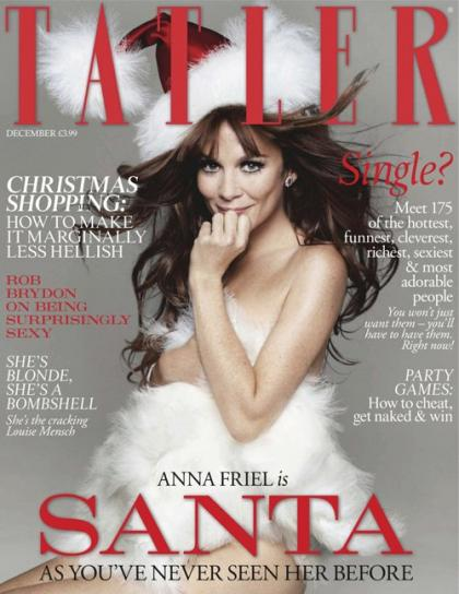 Anna Friel Covers Tatler December 2011