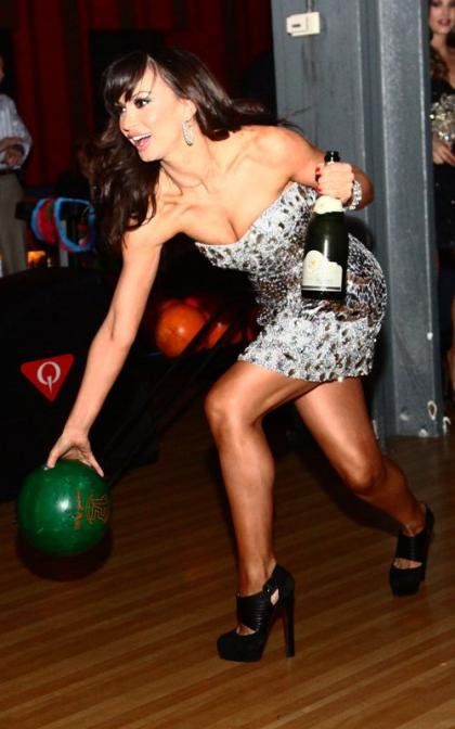 Karina Smirnoff Bowls Her Way Into 2012