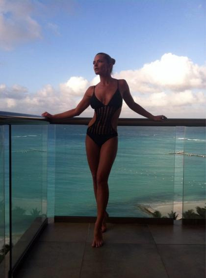 Jaime Pressly Shows Some Skin on Twitter