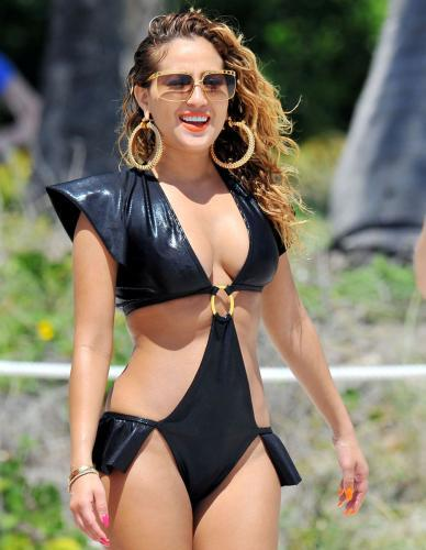 Adrienne Bailon's Out Of This World Swimsuit