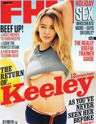 More Keeley Hazell Comeback Hotness