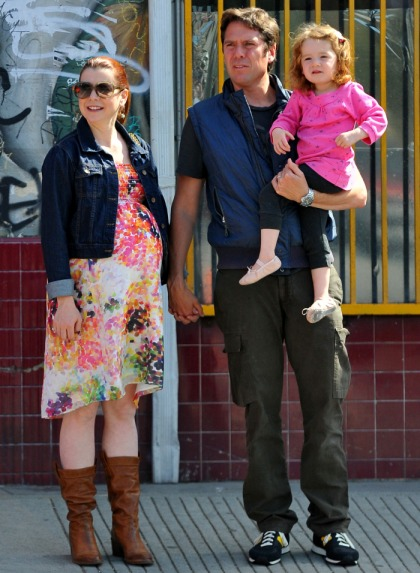 Alyson Hannigan gave birth to baby girl Keeva Jane Denisof three weeks ago