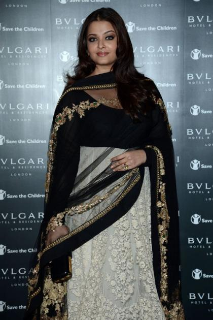 Aishwarya Rai & Dev Patel Help Open the Bulgari Hotel