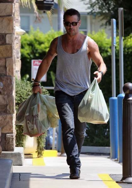 Colin Farrell Talks Arnie, Jessica Biel & Technology with DT