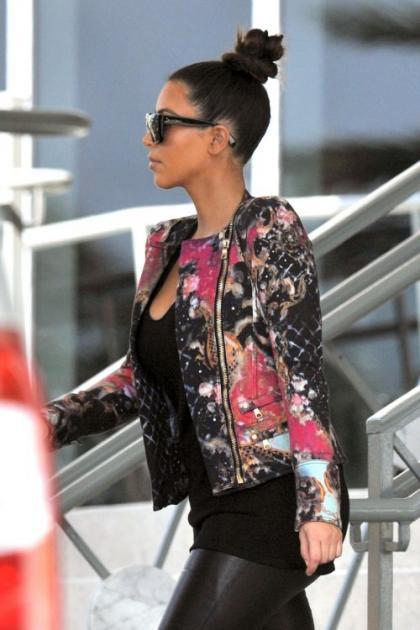 Kim Kardashian Says Farewell to Miami