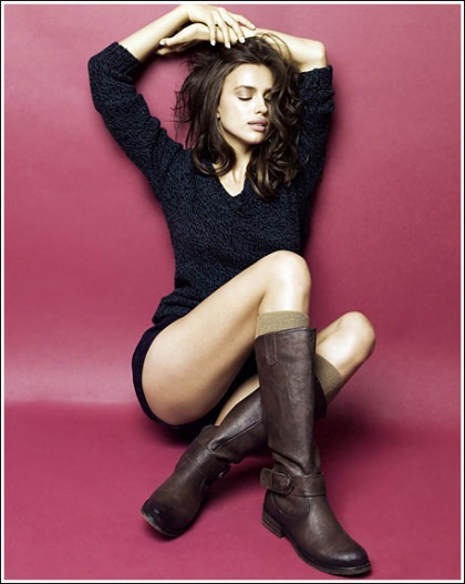 Irina Shayk Gets Seriously Leggy For Xti