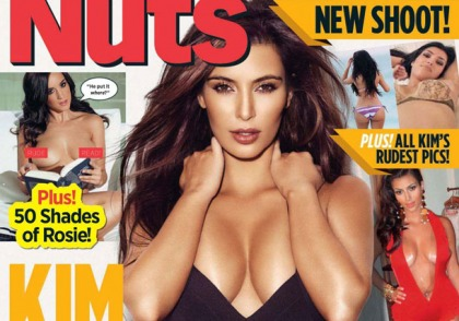 Kim Kardashian Does NUTS Magazine