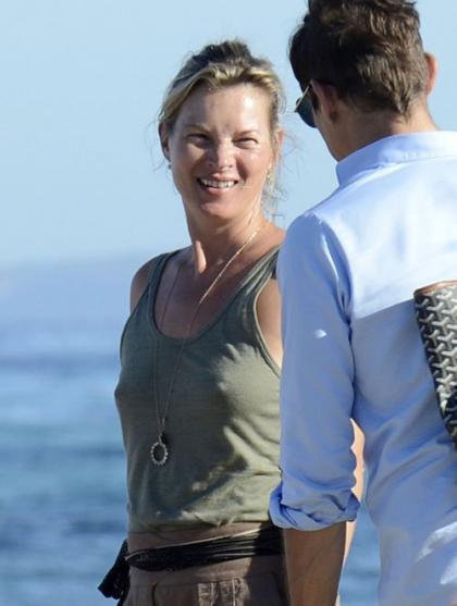 Swimsuit Clad Kate Moss's Fun in the Ibiza Sun