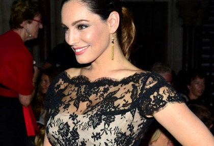 Kelly Brook's See Through Dress Isn't See Through