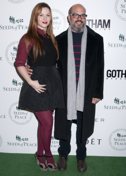 Amber Tamblyn (29) married David Cross (48) over the weekend