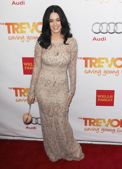 Katy Perry in Marchesa at the 'Trevor Project?: surprisingly decent & not awful'