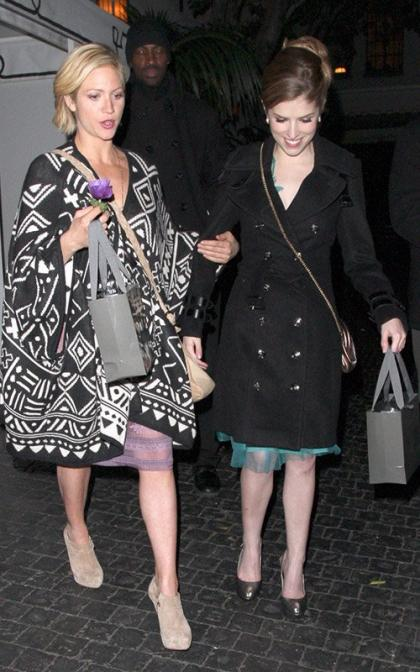 Brittany Snow & Anna Kendrick: Chateau Marmont Mates
