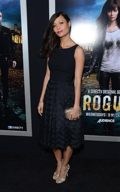 Thandie Newton Premieres 'Rogue' in Hollywood
