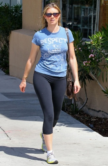Amy Smart Delicious Booty Out in Studio City