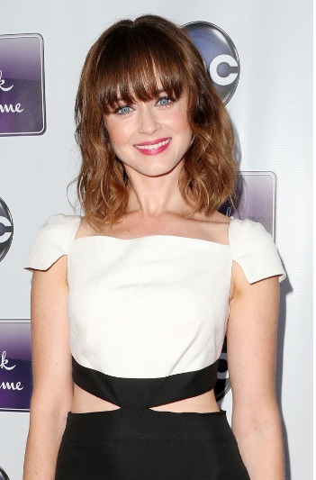 Alexis Bledel Pretty at 'Remembering Sunday' Premiere