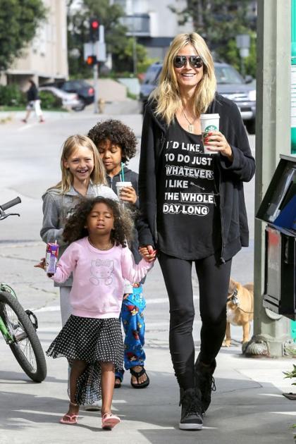Heidi Klum: Busy Brentwood Mom