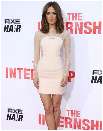 Rose Byrne Gets White Hot And Leggy For 'The Internship'
