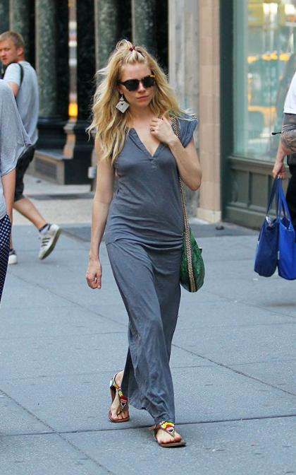 Sienna Miller's Sweltering Stroll in NYC
