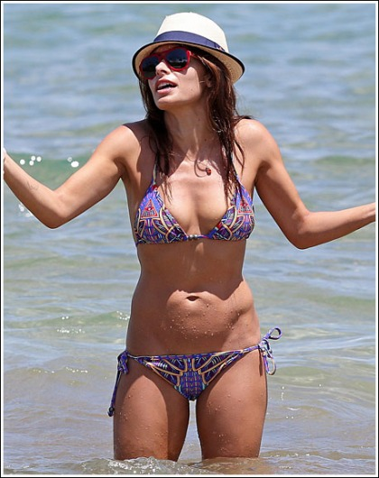 Shwingtastic Sarah Shahi Bikini Pictures Are In The House!