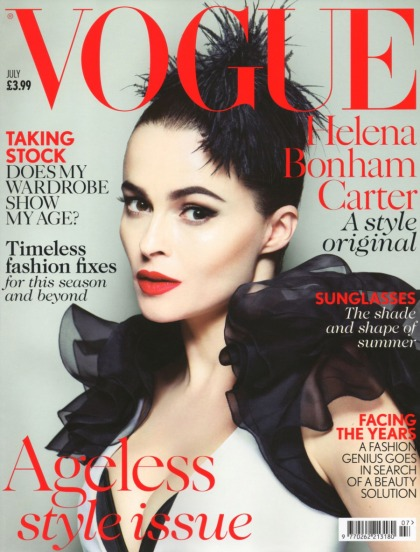 Helena Bonham Carter covers Vogue UK, always wanted to play a hooker