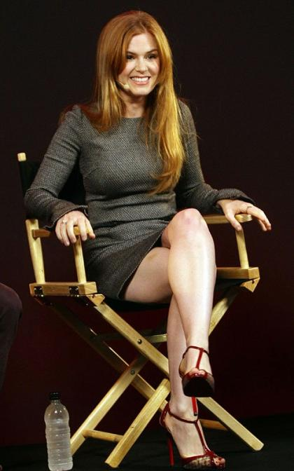 Isla Fisher Promotes 'Now You See Me' in London Apple Store