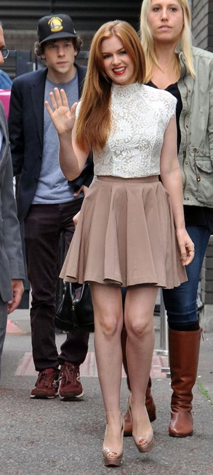 Isla Fisher: ITV Babe in London