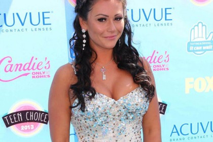 JWoww Busts Out At The Teen Choice Awards