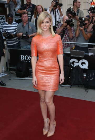 Alice Eve Wonderful Legs At GQ Men Of The Year in London Awards