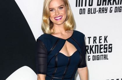Alice Eve Is Truly A Goddess!