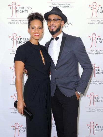 Alicia Keys and Swizz Beatz Attend Children's Rights Benefit in NYC