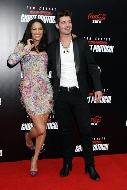 Robin Thicke says 'Blurred Lines' is about wife Paula Patton: 'she's my good girl'