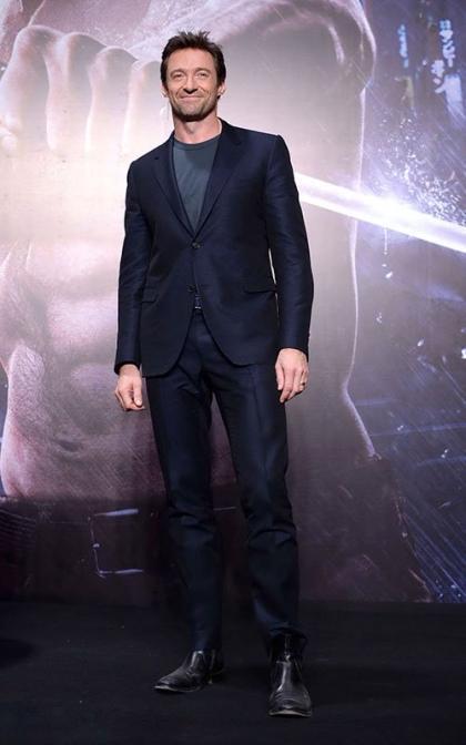 Hugh Jackman Plugs 'The Wolverine' in Beijing