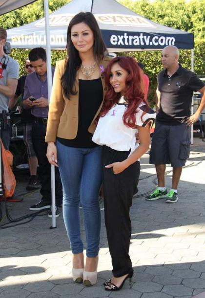 Snooki and JWoww Team Up for