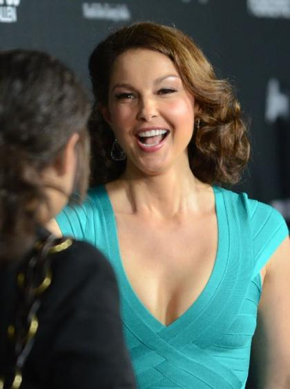 Ashley Judd: Reuniting with Dario Franchitti