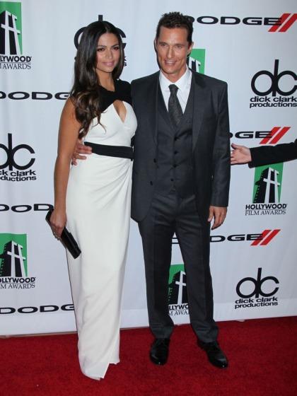 Camila Alves & Mathew McConaughey at Hollywood Film Awards: cute couple?