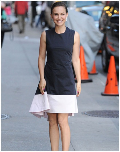 Natalie Portman Gets Ridiculously Hot, And Cute, And Sexy, And Leggy, And Perfect For Letterman, Oh My!