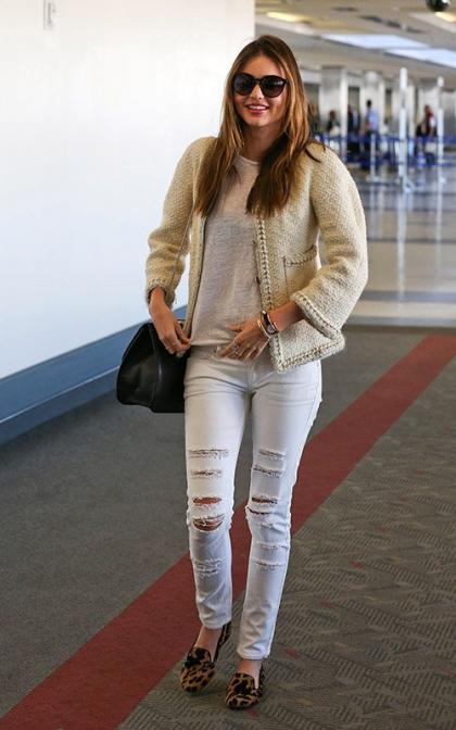 Miranda Kerr: Drops it Low for Elle Japan December 2013