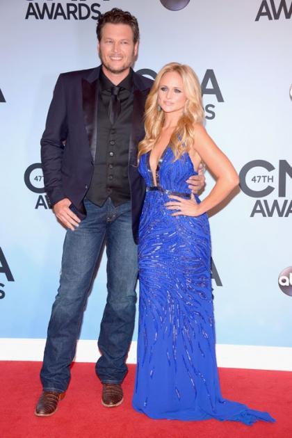 Miranda Lambert and Blake Shelton: Competitive Couple at the 2013 CMA Awards