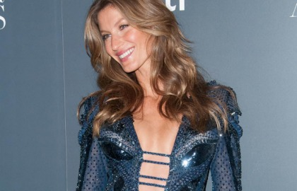Gisele Bundchen's Innovative Cleavage Pictures