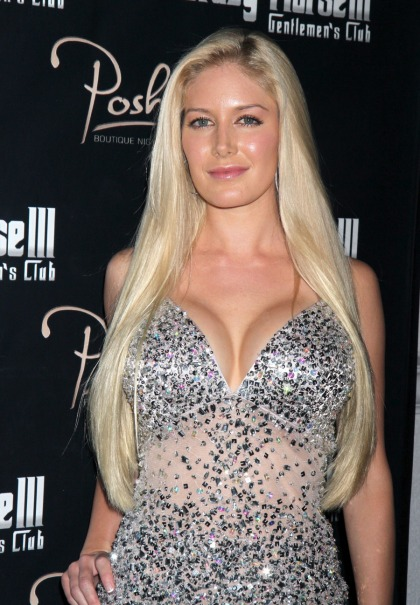 Heidi Montag's F-cup implants almost 'bottomed-out' & fell to her belly button
