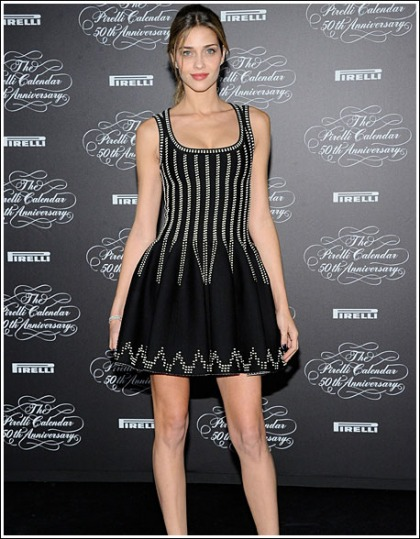 Ana Beatriz Barros Makes A Shwingtastic Return At The Pirelli Calendar 50th Anniversary Party