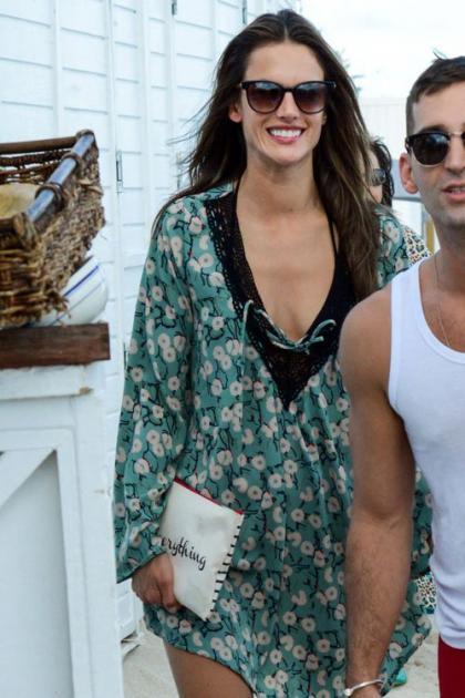 Alessandra Ambrosio: Making Moves in Miami