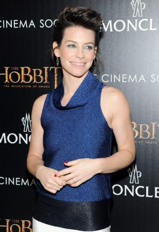 Evangeline Lilly's Fantastic At The Hobbit: The Desolation Of Smaug NY Screening