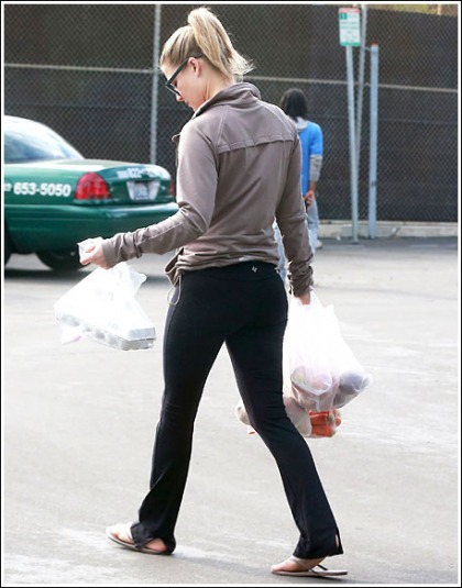 Ali Larter Is A Bootylicious Grocery Shopper