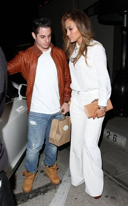 Jennifer Lopez & Casper Smart: Craig's Dinner Date Duo
